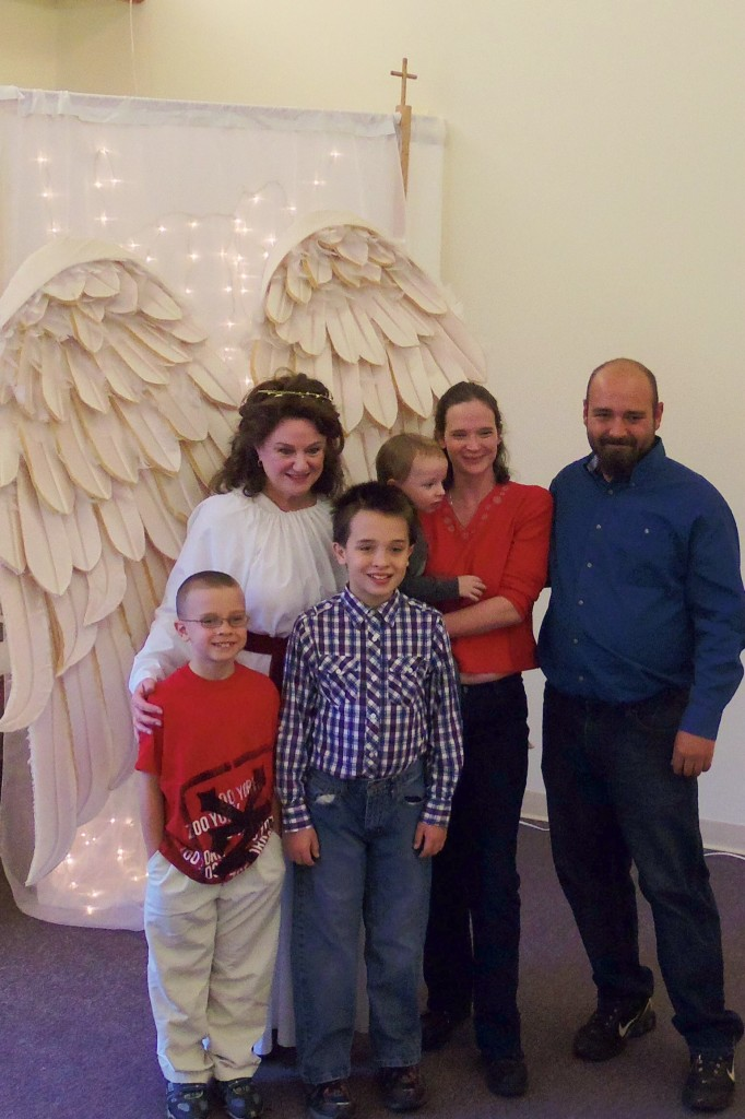 The Christmas Angel and friends