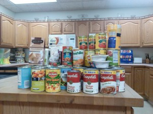 Donations to the Community Meals program